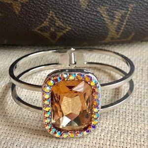 Carmel Crystal Hinged Bracelet